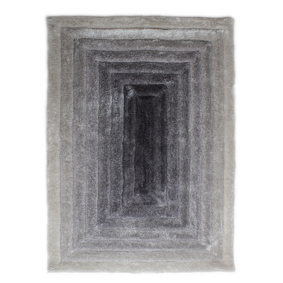Verge Ridge Black And Grey Rug_2