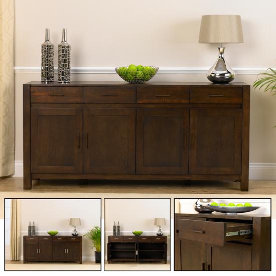 Milan Dark Oak Buffet Sideboard
