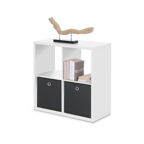 Photo of Version cube display unit in white with 4 compartments