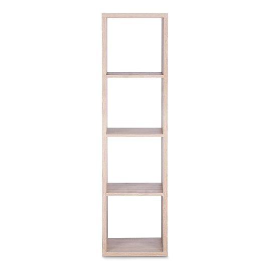 Version Shelving Unit In Sonoma Oak With 4 Compartments_2