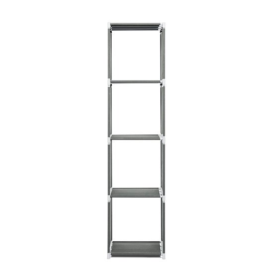 Vetra Shelving Unit In Anthracite With 4 Shelf_3