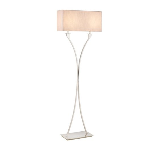 View Vienna floor lamp with chrome metal stand