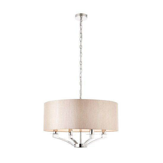 Vienna Wall Hung 1 Pendant Light In Chrome