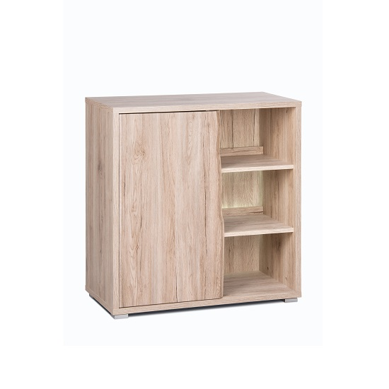 Villa Sideboard In Sanremo Oak With 1 Door And LED