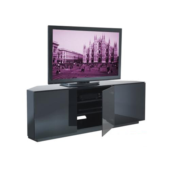 Wilson Black Gloss Corner TV Stand