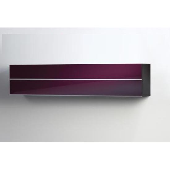 Damian Wall Mounted Cabinet With Uplift High Gloss Door