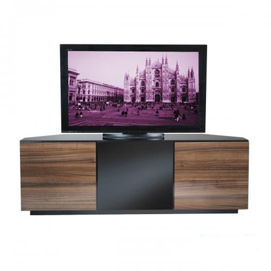 Wilson Corner TV Stands In Walnut