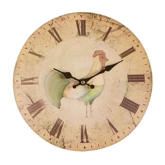 home to roost miff wall clock