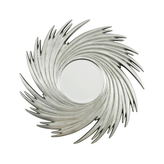 Sunburst Swirl Wall Mirror