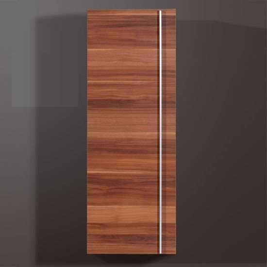 Energy Freestyle Wooden Wall Mounted Cabinet In Walnut