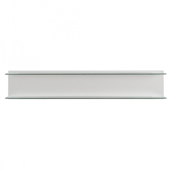 Corona Wall Panel In White High Gloss