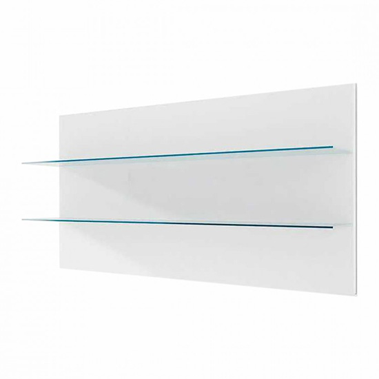 Corona Wall Panel Small In White High Gloss