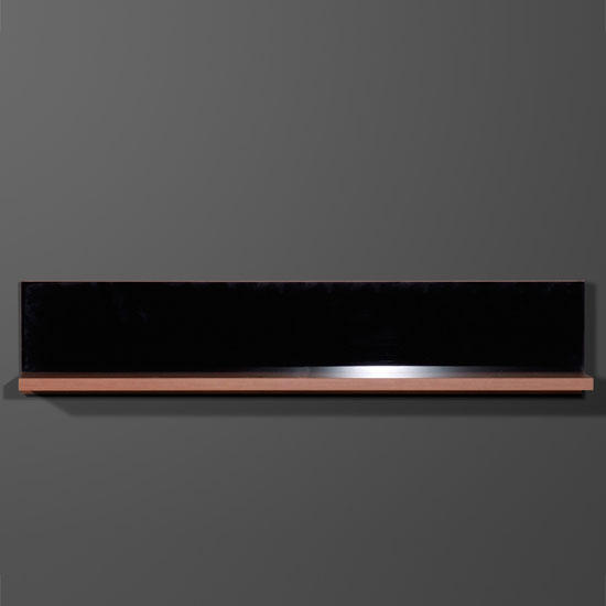 Energy Freestyle Wall Mounted Display Shelf In Walnut