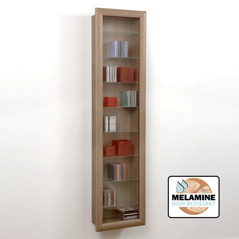 walnut display cabinet 109 009 04 - Outdoor University Furniture Outlet