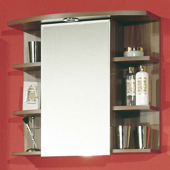 walnut mirrored cabinets 731 88 - Why To Choose Lockable Medicine Cabinets