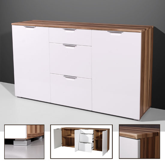 walnut modern sideboard 0268 137 - Fairly Broad Sideboard You Can Find On The Internet