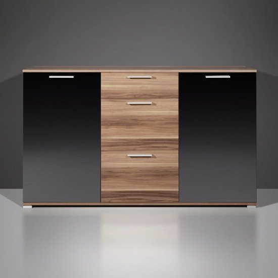 walnut modern sideboards 298 87 - How to Properly Furnish Your Home Theater