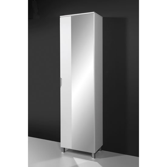 Liquid Freestanding Bathroom Cabinet with Mirror