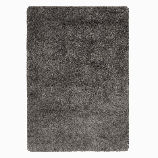 Washable Lavo Charcoal Rug