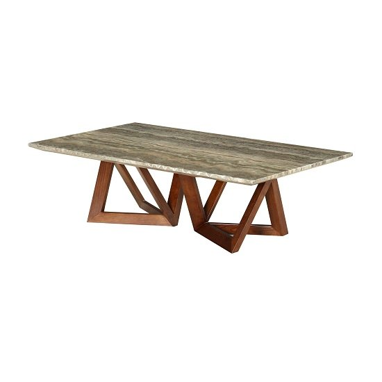 Marble Coffee Table Hk: Webstar Marble Coffee Table In Multicolor With Ash Metal