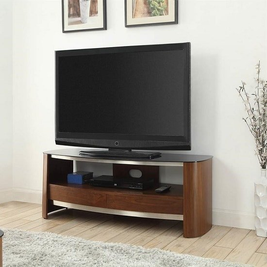 westin wooden tv stand in black glass and walnut with 2 rh furnitureinfashion net black glass and walnut bedroom furniture black glass and walnut bedroom furniture