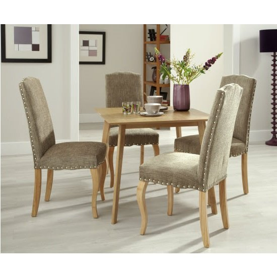 Weinstein Dining Table Square In Solid Oak_5