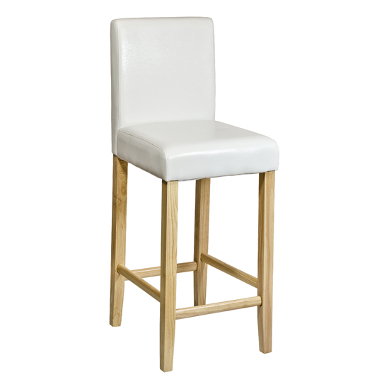 Oak bar stool Shop for cheap Furniture and Save online : white bar chair fw812w from www.pricechaser.co.uk size 550 x 550 jpeg 56kB