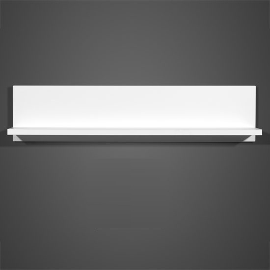 Cool Wall Mount Display Shelf In White