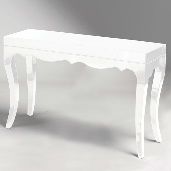 Buy cheap console tables glass compare storage prices for White and glass console table