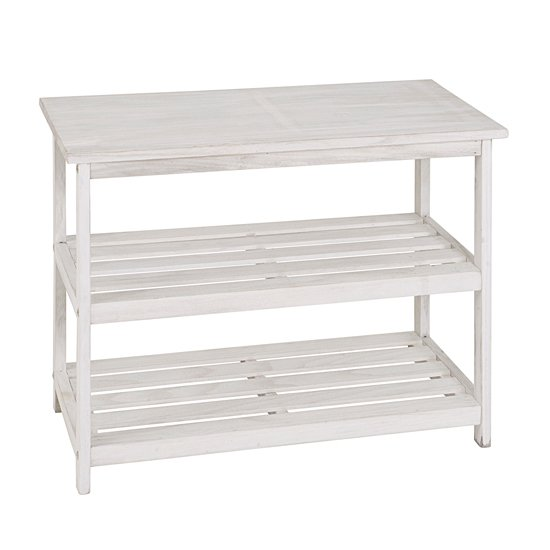 tanja 2 tier wooden shoe rack in white 18122 furniture in