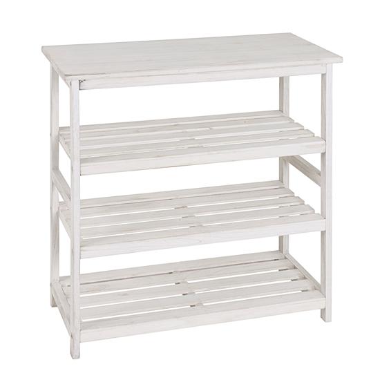 tanja 3 tier wooden shoe rack in white 18120 furniture in