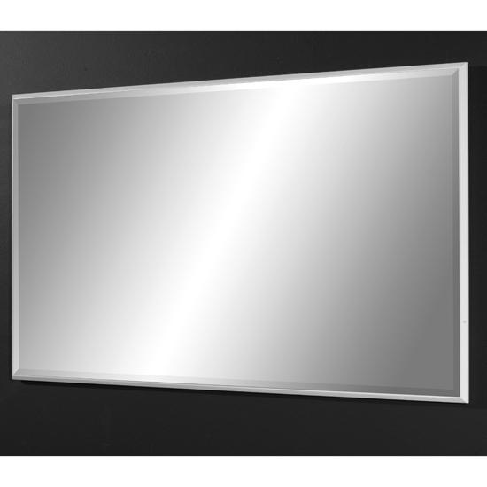 Photo of Centro white wall mirror