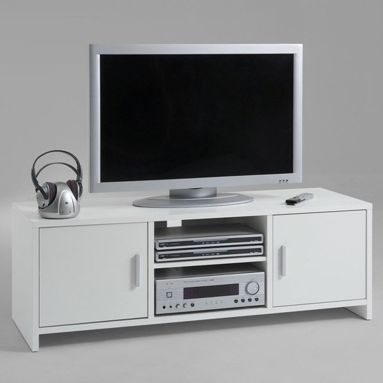 wht tv stand Poldi  - 5 Choices To Make While Shopping For Wooden TV Stands For 50 Inch TV