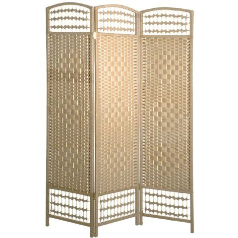 wicker natural room divider 34306 - Wedding Dividers For Both Groom And Brides Side