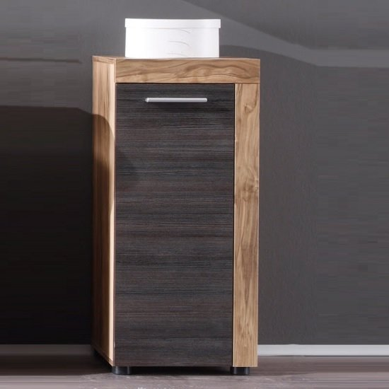 Wildon Bathroom Storage Cabinet In Walnut Touch Wood Dark Brown_1