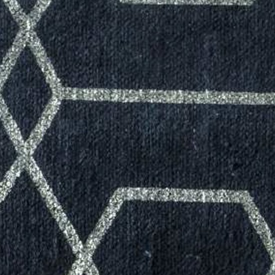 Winchester Medium Fabric Upholstered Rug In Charcoal_3