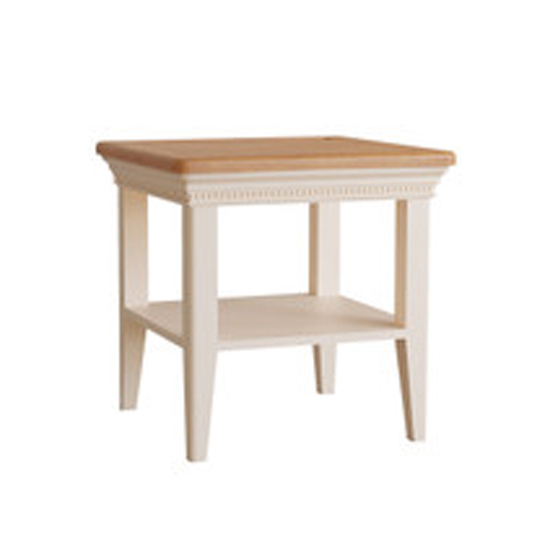 View Winchester wooden end table in silver birch