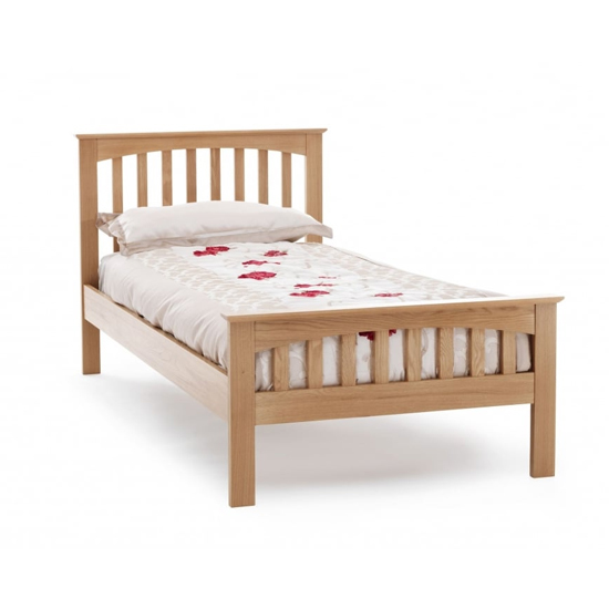 Windsor Wooden Single Bed In Oak