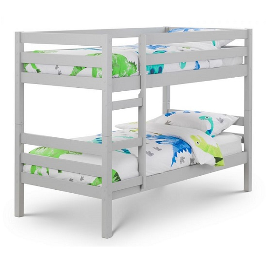 Winona Wooden Bunk Bed In Dove Grey Lacquer Finish_2