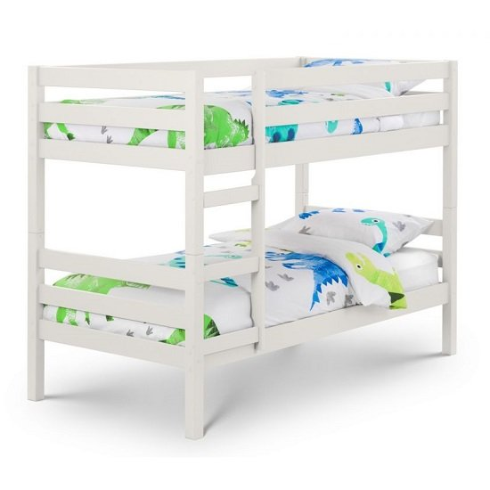 Winona Wooden Bunk Bed In Surf White Lacquer Finish_2