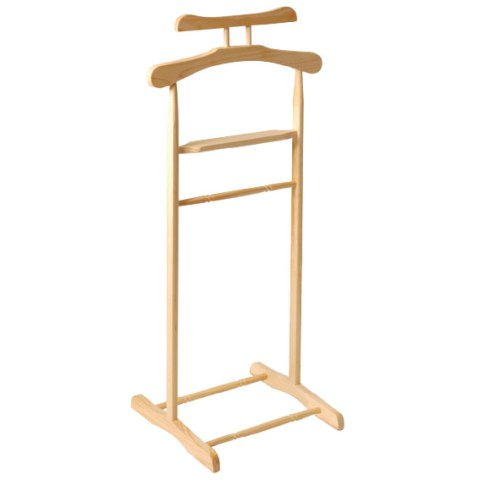 Wooden Clothes Valet Stand In Natural 30370 4032 Furniture