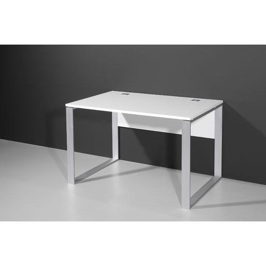 Linea Computer Desk In White