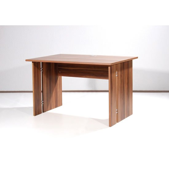 Power Range Work Table In Walnut