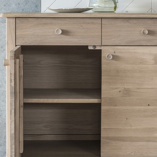Wycombe Wooden Sideboard In 3 Doors And 3 Drawers_2