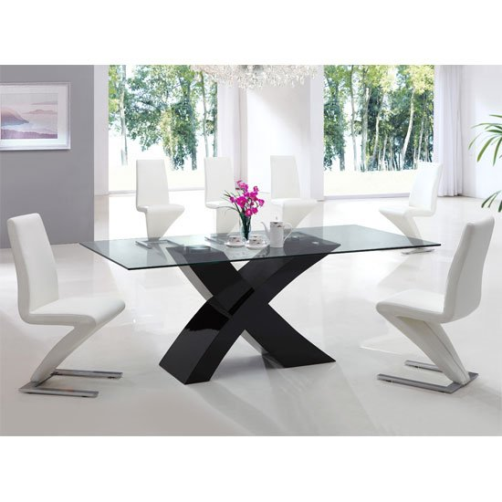 x dining table blk 632w - Your Living Room's Most Useful Furniture - Tables