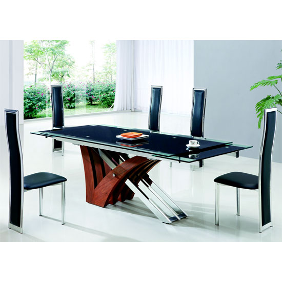 xaria ext dining table 601 - Furnishing Your Home with Dining Table and Chairs
