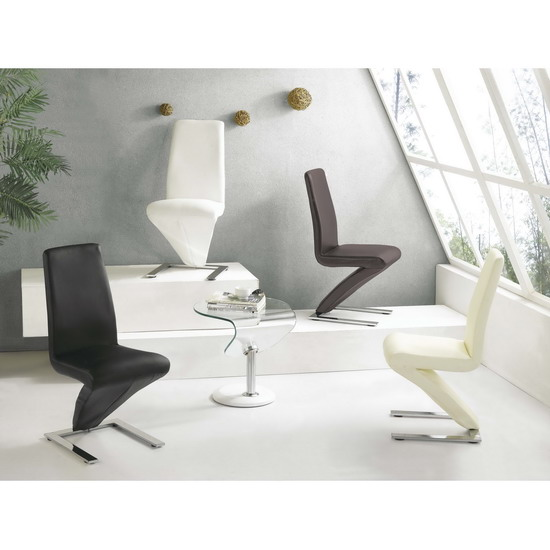 D 216 dining chair fu 1145 furniture in fashion for Z shaped dining chair