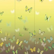 Butterflies triptych set of 3 Wall Art