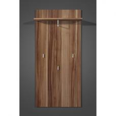 Mediano Walnut Wall Mounted Hallway Stand