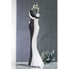 Wedding Sculpture In Black And White